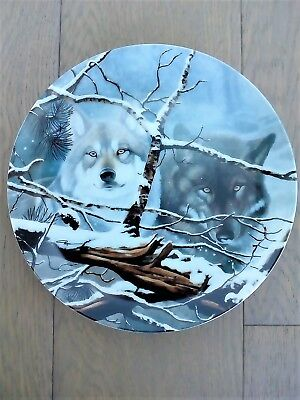 "Daniel Renn Pierce ""Eyes in the Mist"" 1993 Collector Plate"