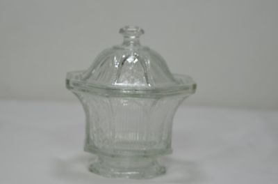 Avon Glass Ltd Ed Octagon Candy Dish & Lid Signed