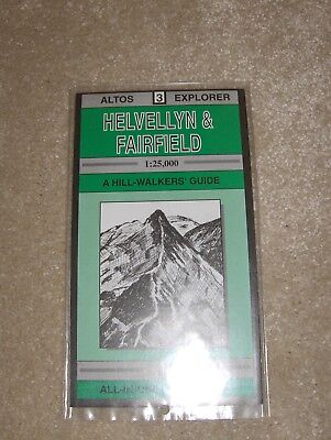 Altos Explorer Map 1:25000 Helvellyn & Fairfield (all in one map and guide)