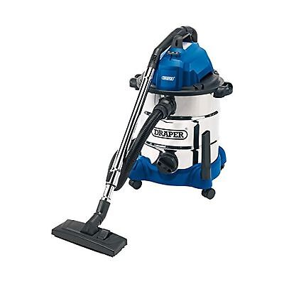 Draper 54257 30 Litre 1400 W Wet and Dry Vacuum Cleaner with Integrated 230 V...