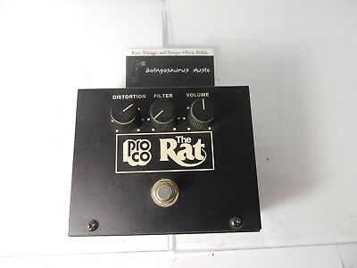 ProCo Vintage Rat Distortion Effects Pedal Reissue LM308N IC Big Box Free US S&H