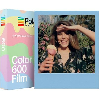 Polaroid Originals 4847 Color 600 and i-Type Instant Film - Ice Cream Edition