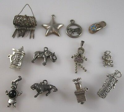 Charms Vintage Sterling Silver | Lot of 12 | 34.7 g