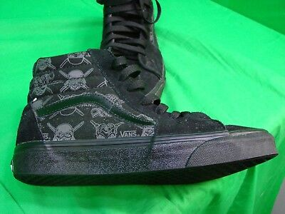 54d7599e3acd VANS MAY THE Force Be With You Black Lace Up High Tops Mens Sz 6 Stars Wars  Euc -  27.60