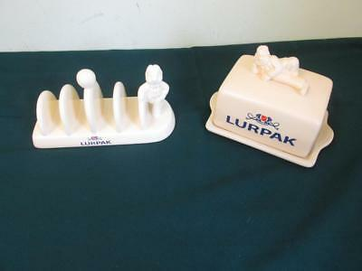 Collectable Lurpak Douglas Toast Rack And Butter Dish
