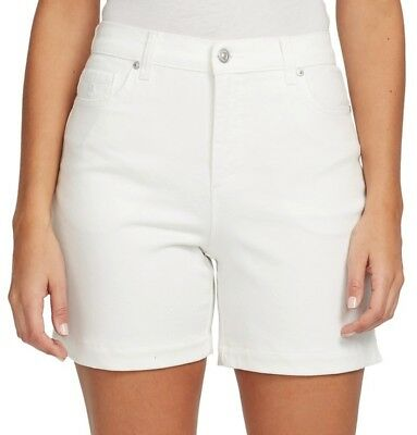 Gloria Vanderbilt Amanda Fit Classic Rise Slimming Denim Shorts $44