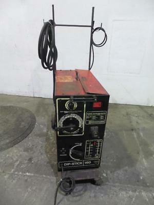 Airco Dipstick 160 Amp Multiprocess Mig, Tig and Stick Electrode Welder