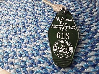 Vintage Holiday Inn  Room Key - Bloomington, Mn