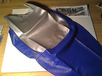 NEW 2003 HONDA VTR 1000 SEAT COVER SKIN Blue/Silver SECOND LOOK MOTORCYCLE USA