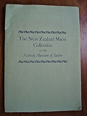 THE NEW ZEALAND MAORI COLLECTION, Peabody Museum 1941