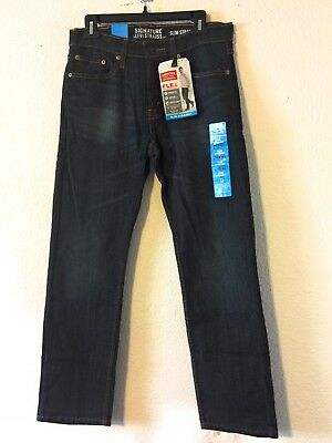 71f3c505 SIGNATURE BY LEVI Strauss & Co. Men's Slim Straight Fit Jeans ...