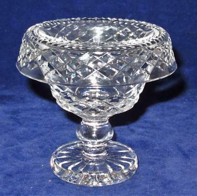 Waterford Crystal, Giftware, Criss Cross Cuts, Mini Turnover Bowl, 3 1/2""