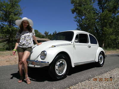 1969 Volkswagen Beetle - Classic not super beetle white with violet pearl in the clear coat very petty  although subtle