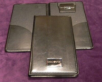 NEW 25 PCS Discover Double Panel Restaurant Bill Check Presenter/Holder Book