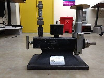 10000 PSI Amthor 470 - Dead Weight Pressure Tester - Antique, in good condition