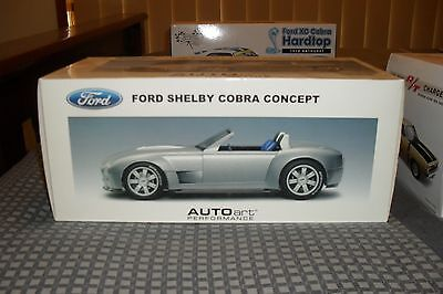 Model Car Ford Shelby Cobra Concept 1/18 Scale Limited Edition