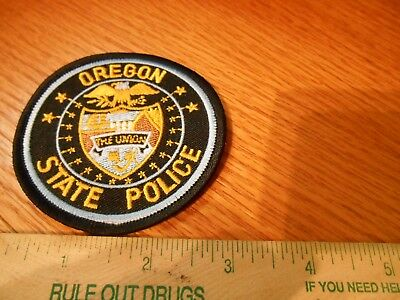 OREGON  STATE  POLICE Iron on Patch