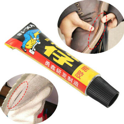 18ml Leather Shoe Rubber Super Adhesive Repair Glue Canvas Tube Strong Bond