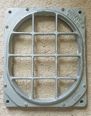 Antique Russell & Stoll New York Cast Metal Porthole Window Nautical Ship Boat