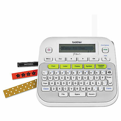 Brother PTD210 P-Touch Easy Compact Label Maker - White - NEW - (NIB) - REDUCED!