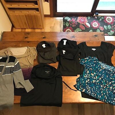 Maternity Clothes Size Small Career Lot