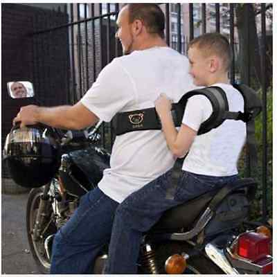 Motorcycle Baby Safety Seat Strap Belt Harness Chest Children Kids Safe Buckle