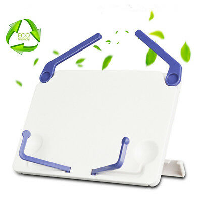 Reading Book Holder Display Stand Lightweight Portable Foldable Adjustable ABS