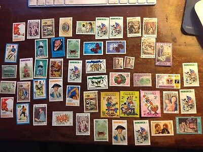 Lot of around 340 Dominican Republic mint stamps,