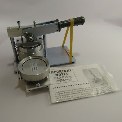 Neil Enterprises Heavy Duty Button and Badge Making Machine 3 inch Buttons Maker