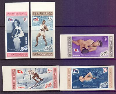 Dominican Republik  1958  Olympic Winners imperf, MNh.