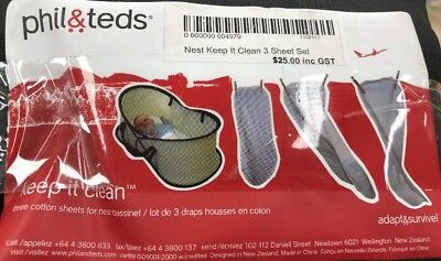 Phil &Teds Nest Keep It Clean (3 Pack)