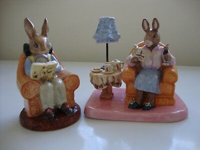Royal Doulton B/kins: DB 54 Collecting & DB 335 Mrs Collector ~ No boxes ~ VGUC