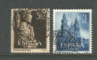 Spain  1954  Holy year of Compostela, used.