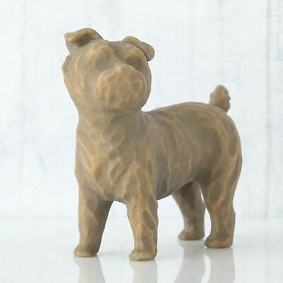 Willow Tree Figurine Love My Dog (Small Standing)  By Susan Lordi 27791