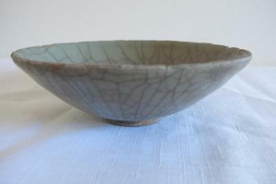 Antique Chinese Song Dynasty Guan Glaze Bowl – Nice Example