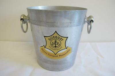Vintage Veuve Clicquot French Champage Ice Bucket – Aluminium