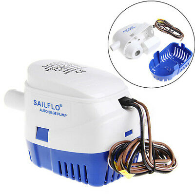 New 750GPH 12V Boat Marine Automatic Submersible Bilge Water Pump Float SwitchNT
