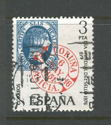 Spain  1976  World Stamp Day, used.