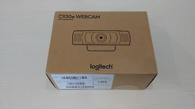 NEW Logitech  c930e ultra wide angle 1080p Webcam 30Fps FullHD