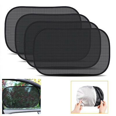 Car Sun Window Shade Baby Sunshade Kids Curtain Uv Protector Side Pack Children