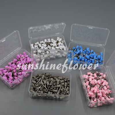 Dental Latch Type Polishing Prophy Cup Rubber Bowl Teeth Mixed 50/100/500 Pcs