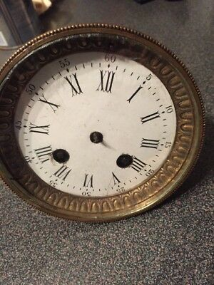 Japy Freres Clock Circa 1855 Dial & Movement Spares Repairs