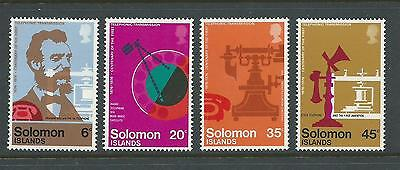 1976 Centenary of the Telephone  set of 4 Complete MUH/MNH SG 326  - 329