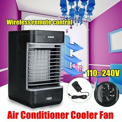 Mini Portable Evaporative Air Conditioner Water Cooler Fan Electric Home Office