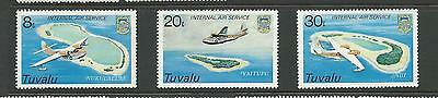 Tuvalu  1979 Internal Airmail Part set of 3  Complete MLH Mint lightly Hinged