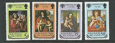 1979 Christmas set of 4 complete MUH/MNH as issued