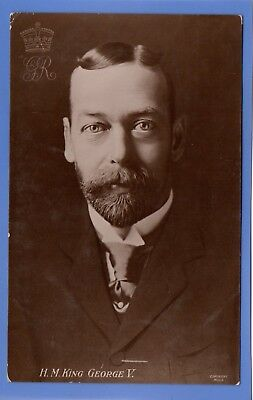 Old Vintage 1912 Rp Postcard H.m. King George V Royalty
