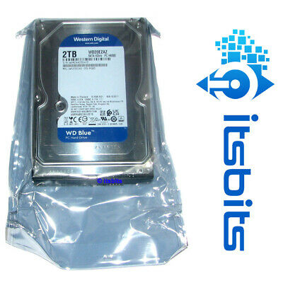 "Western Digital 2Tb Blue Sata3 6Gb/Sec  3.5"" Hard Disk Drive 2 Years Warranty"