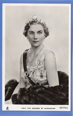 Old Vintage Rp Tuck Postcard The Duchess Of Gloucester Royalty