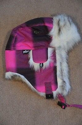 Girls Xtm Snow Hat Beanie Fit size 6 - 8 years